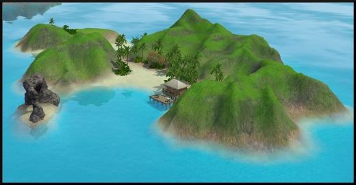 sims 3 ile de reve isla paradiso iles cachees ile du refuge