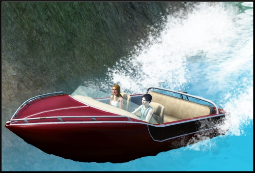 sims 3 ile de reve isla paradiso iles cachees Le Secret de la Sirene