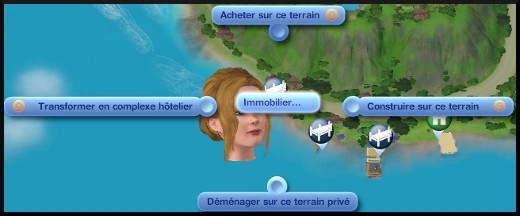 Sims 3 ile de reve nouveautes add on acheter un domicile supplementaire