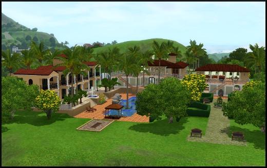 Sims 3 ile de reve nouveautes add on complexe hoteliers
