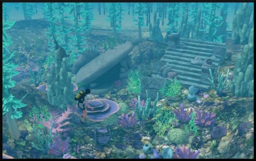 Sims 3 ile de reve nouveautes add on plongée sous marine
