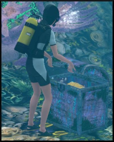 Sims 3 ile de reve nouveautes add on coffre
