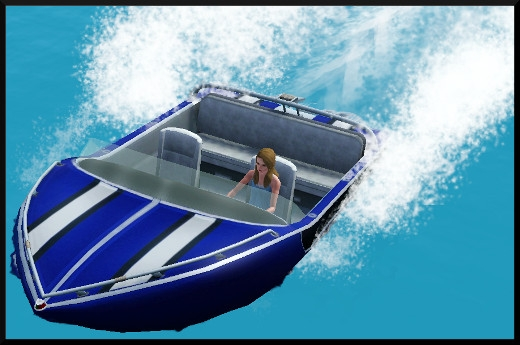 Sims 3 ile de reve nouveautes add on bateau