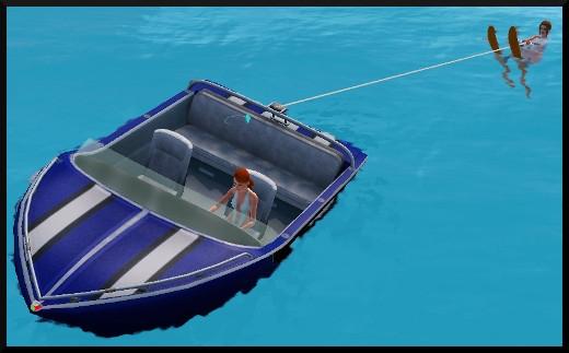 Sims 3 ile de reve nouveautes add on ski nautique