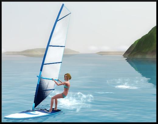 Sims 3 ile de reve nouveautes add on planche a voile