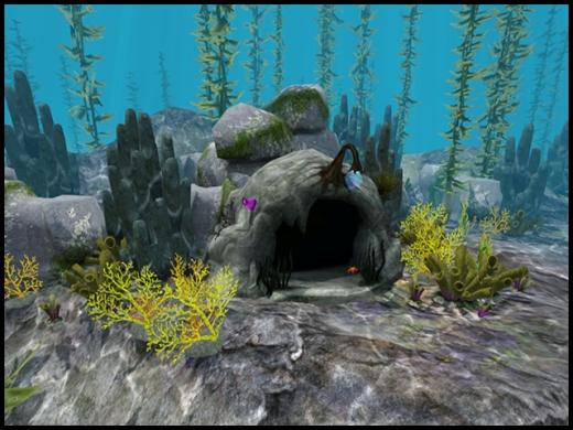 grotte du site de la perle