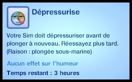 plongée dépressurisation