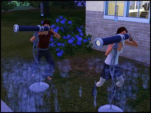 Sims 3 Saisons Extra-terrestres télescope