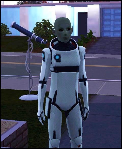 Sims 3 Saisons Extra-terrestres