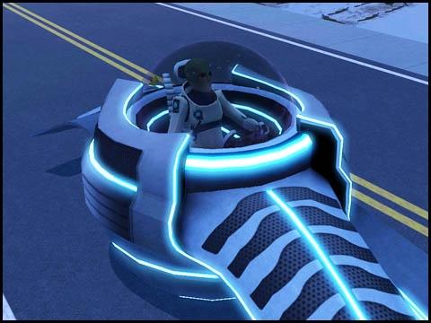Sims 3 Saisons Extra-terrestres voiture de l'espace
