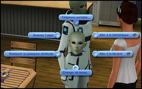 Sims 3 Saisons Extra-terrestres puissance cérébrale
