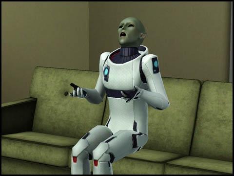 Sims 3 Saisons Extra-terrestres scanner l'objet