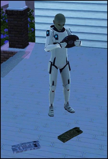 Sims 3 Saisons Extra-terrestres sonder scanner