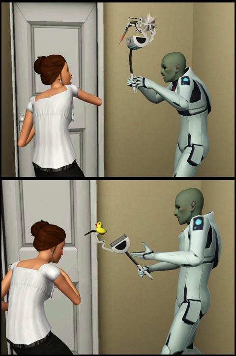Sims 3 Saisons Extra-terrestres sonder