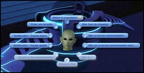 Sims 3 Saisons Extra-terrestres améliorer voiture