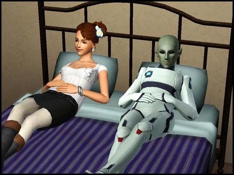 Sims 3 Saisons Extra-terrestres bébé