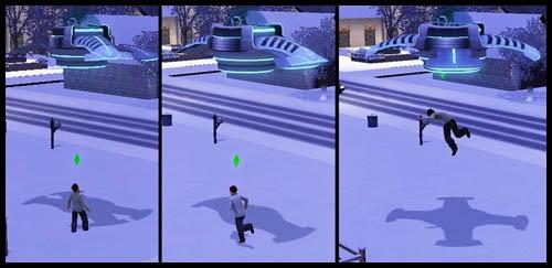 Sims 3 Saisons Extra-terrestres enlèvement