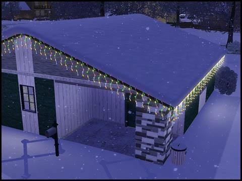 Sims 3 Saisons Hiver décorations de Noel