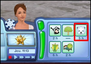 Sims 3 Saisons Hiver ours polaire