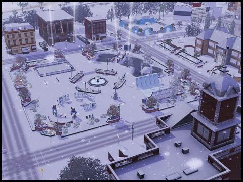 Sims 3 Saisons Hiver festival