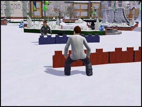 Sims 3 Saisons Hiver activités