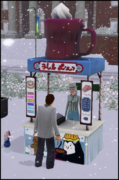 Sims 3 Saisons Hiver stand