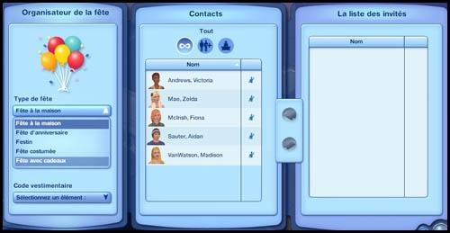Sims 3 Saisons Hiver fête des cadeaux