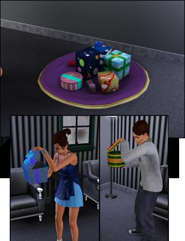 Sims 3 Saisons Hiver cadeaux