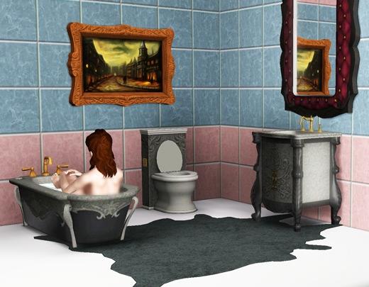 salle de bain superpouvoirs