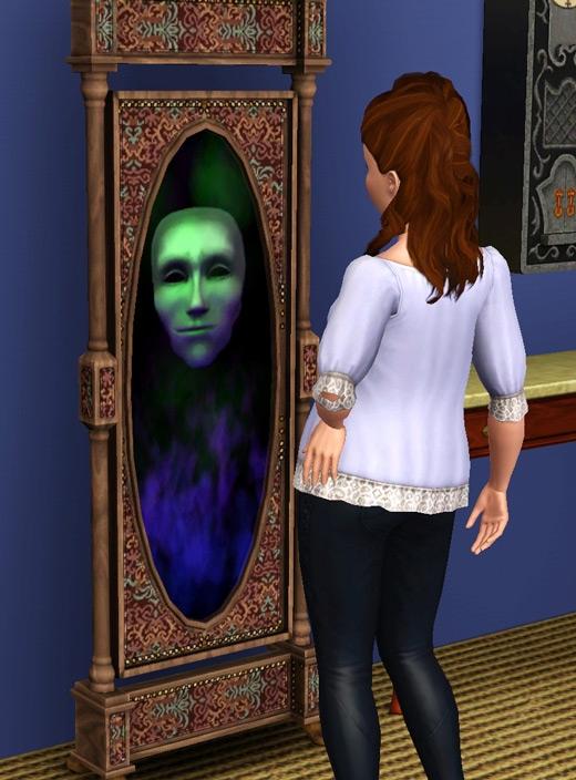miroir magique superpouvoirs