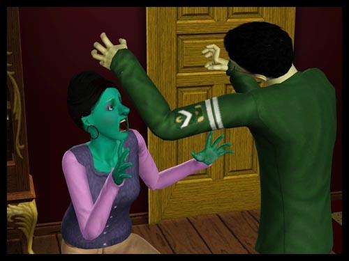 interview zombi effrayer quelqu'un