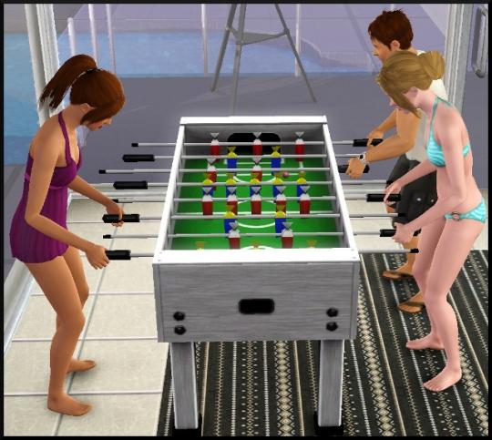 2  sims 3 universite carriere agent sportif concepteur jeux video expert art intro babyfoot
