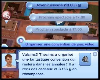 24 sims 3 universite carriere agent sportif concepteur jeux video expert art organiser convention jeu video