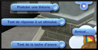 11 sims 3 universite competence science intraction tests tache encre stimulus postuler theorie