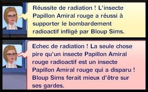 19 sims 3 universite competence science station recherche scientifique message experience irradier insecte