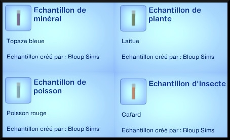 28 sims 3 universite competence science echantillon
