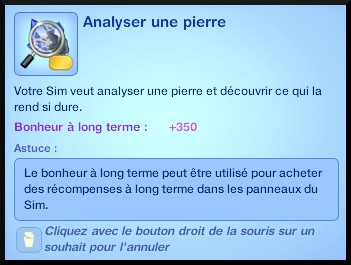 33 sims 3 universite competence science souhait analyser pierre