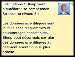 39 sims 3 universite competence science niveau 9 message