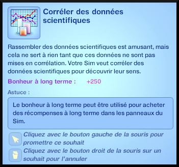 40 sims 3 universite competence science souhait correler donnees scientfiques