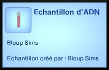 48 sims 3 universite competence science echantillon adn