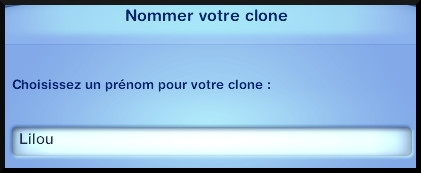 62 sims 3 universite competence science message nommer clone