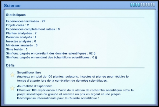 64 sims 3 universite competence science journal competence