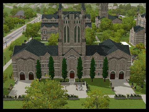 Sims 3 Université Végésims campus