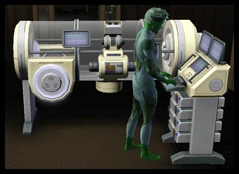 Sims 3 Université Végésims station scientifique
