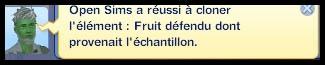 Sims 3 Université Végésims cloner un fruit
