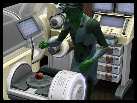 Sims 3 Université Végésims station scientifique cloner