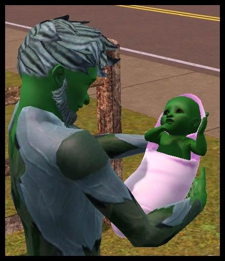 Sims 3 Université Végésims bébé plante