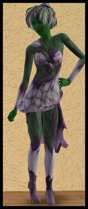 Sims 3 Université Végésims tenue femme