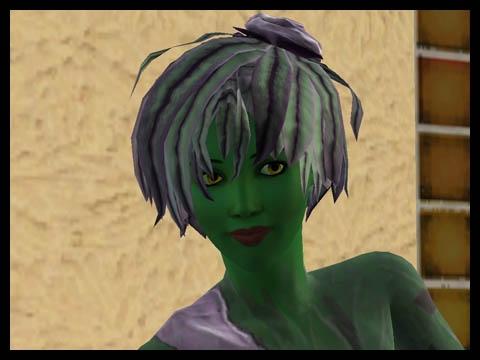 Sims 3 Université Végésims coiffure