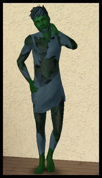 Sims 3 Université Végésims tenue homme